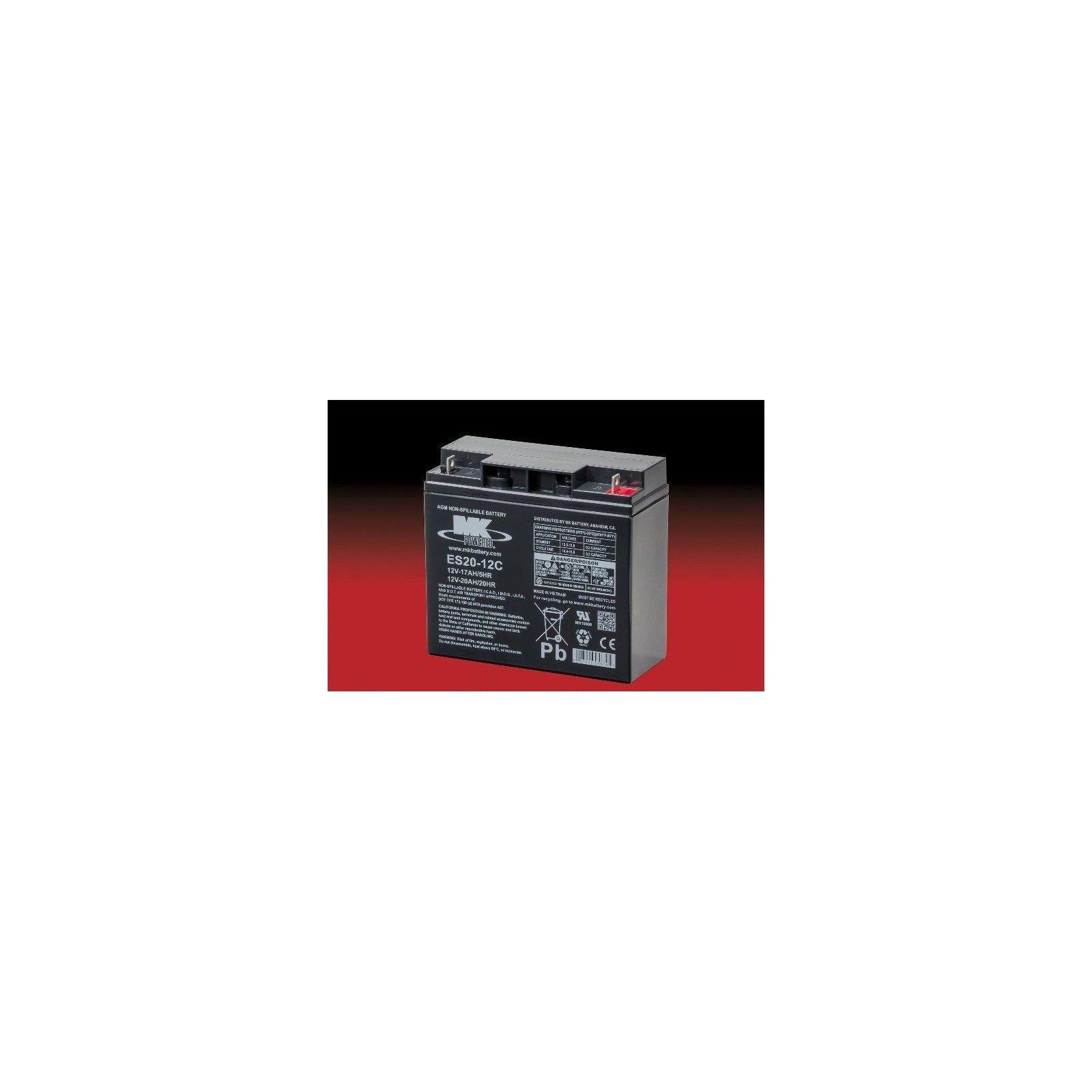 Batería MK ES20-12C 20Ah 12V Agm MK - 1