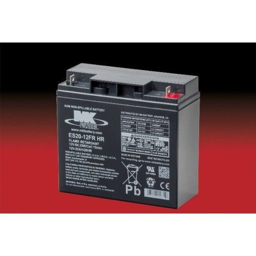 Batería MK ES20-12FR HR 20Ah 12V Agm MK - 1