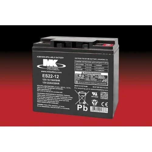 Batería MK ES22-12 22Ah 12V Agm MK - 1
