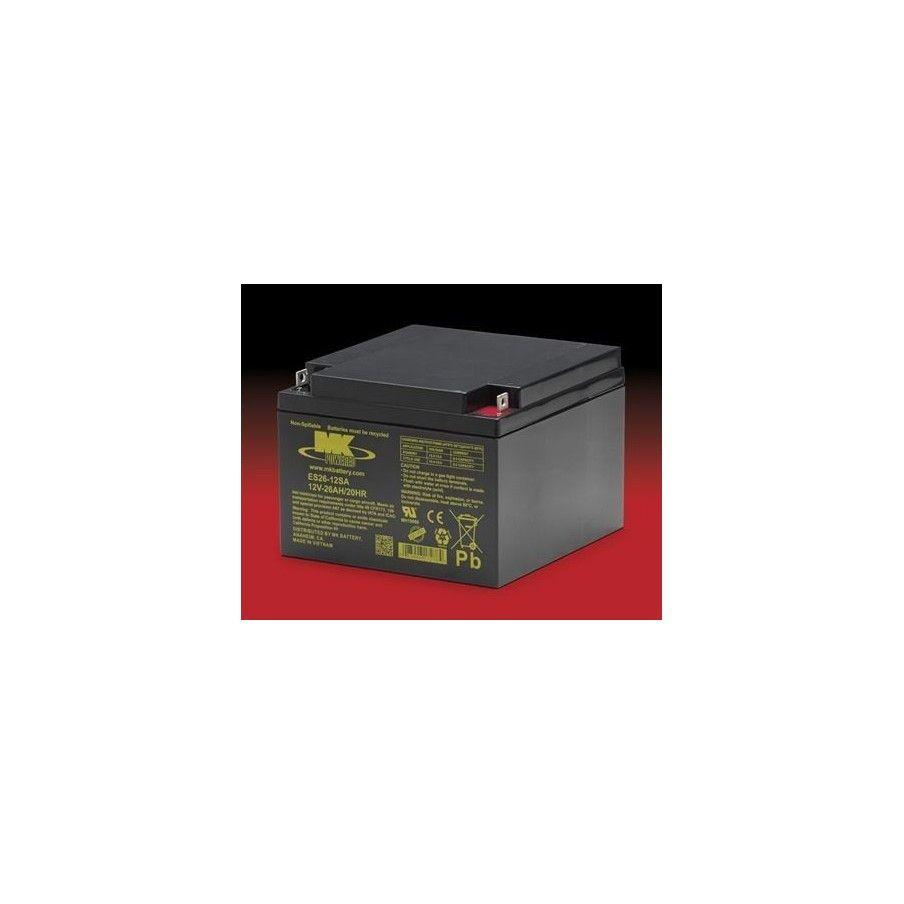 Batería MK ES26-12SA 26Ah 12V Agm MK - 1