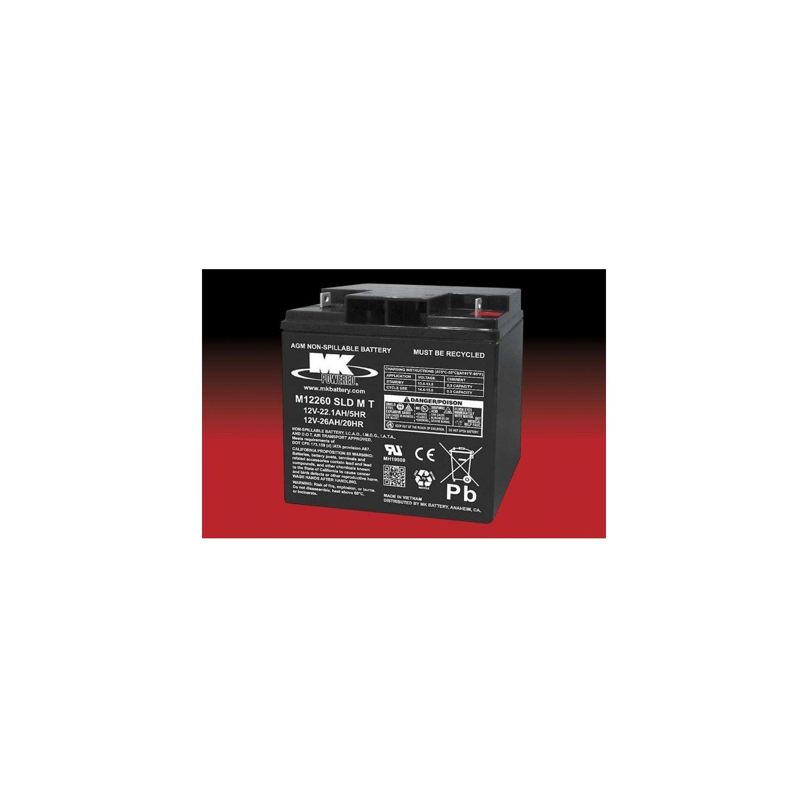 Batería MK ES26-12T 26Ah 12V Agm MK - 1