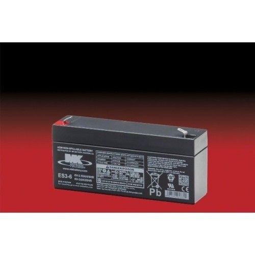 Batería MK ES3-6 3Ah 6V Agm MK - 1