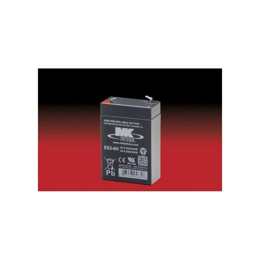 Batería MK ES3-6H 2.8Ah 6V Agm MK - 1