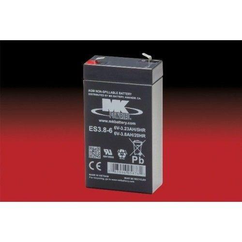 Batería MK ES3.8-6 3.8Ah 6V Agm MK - 1