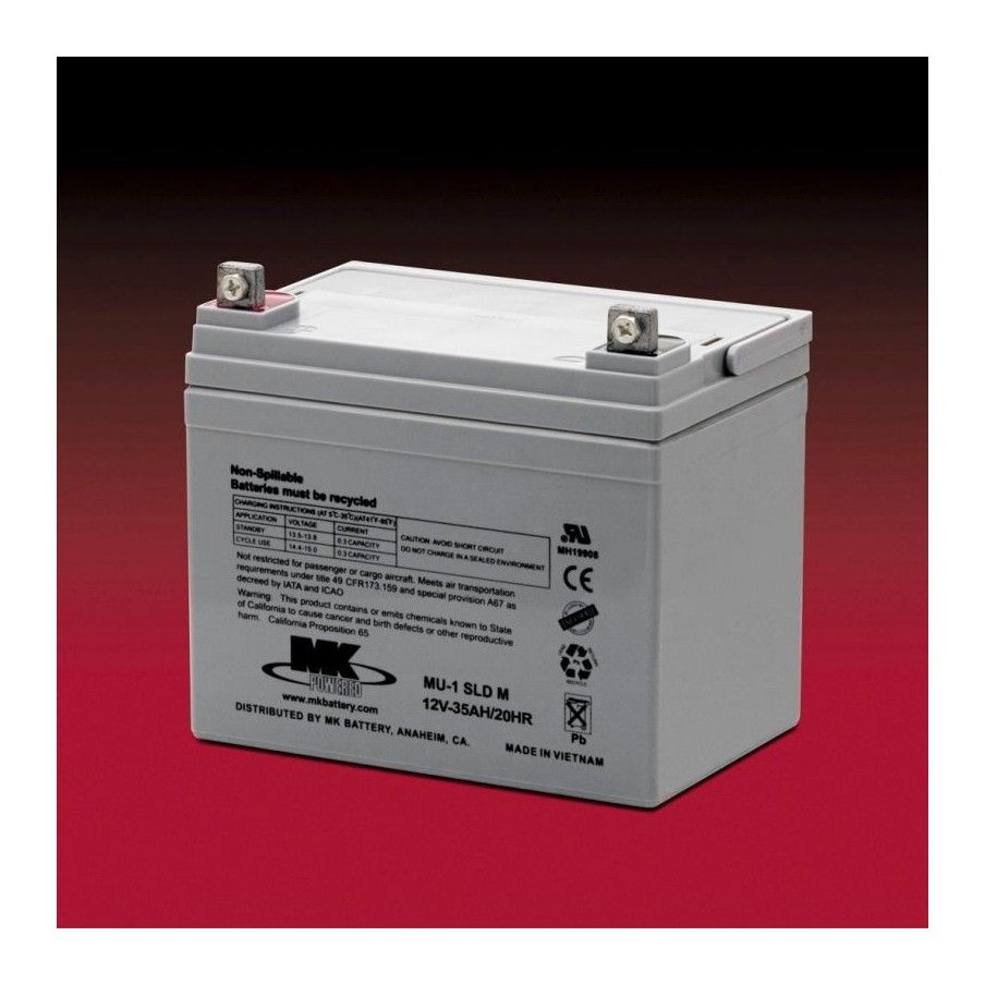 Battery MK ES33-12 35Ah 12V Agm MK - 1