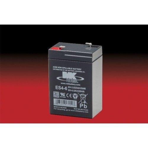 Battery MK ES4-6 4.5Ah 6V Agm MK - 1