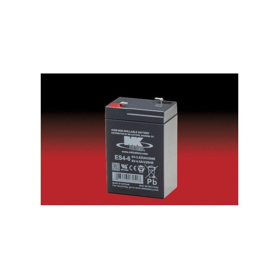 Batería MK ES4-6 4.5Ah 6V Agm MK - 1