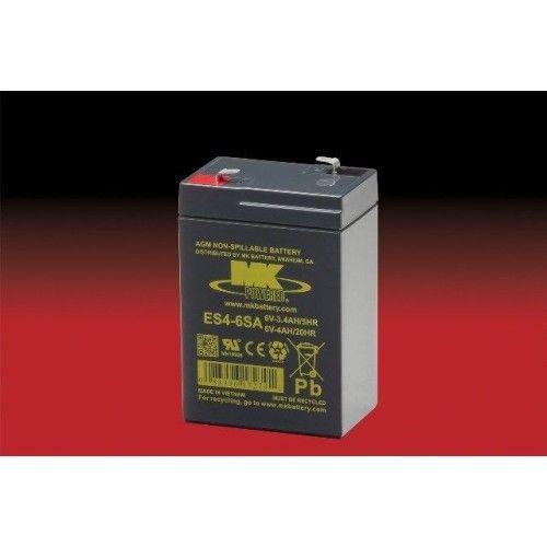 Batería MK ES4-6SA 4Ah 6V Agm MK - 1