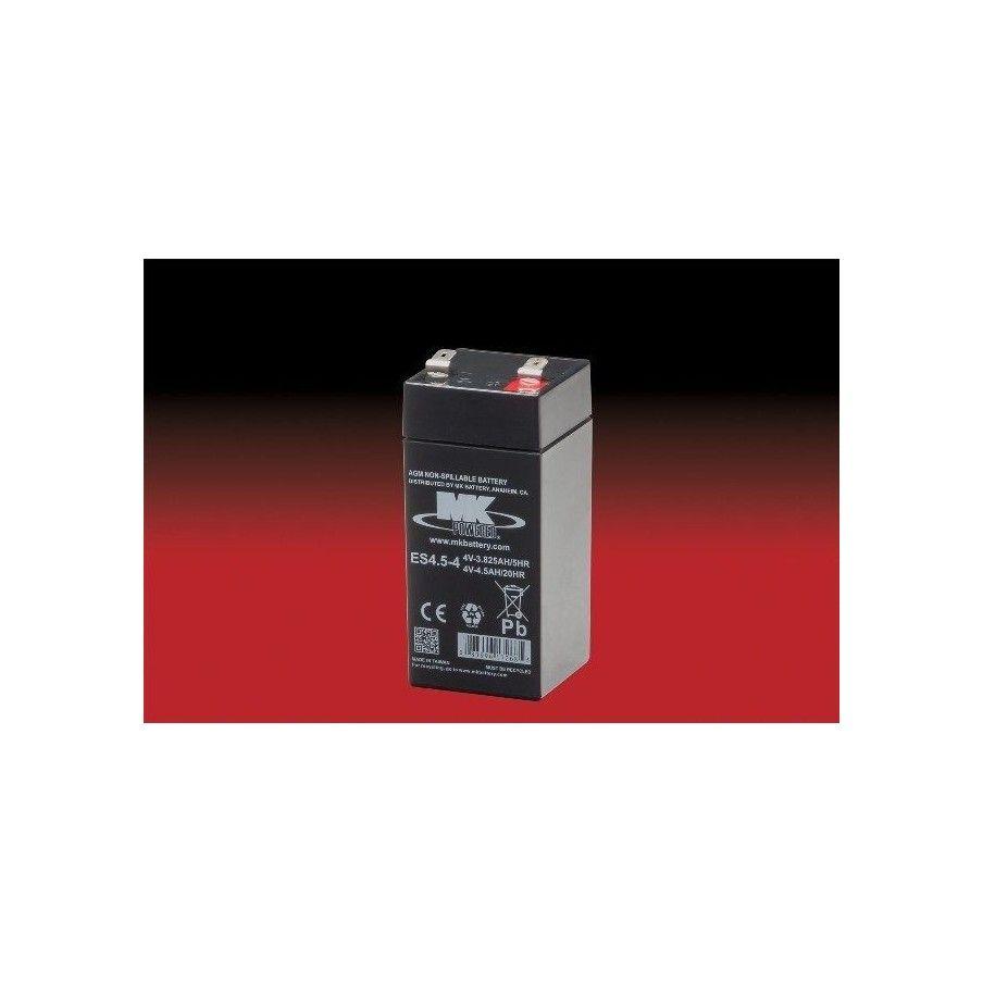 Batería MK ES4.5-4 4.5Ah 4V Agm MK - 1