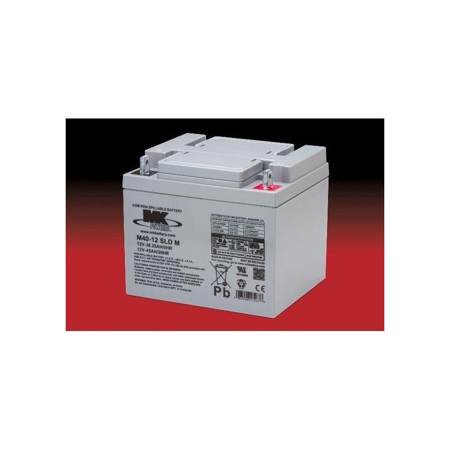 Batería MK ES40-12 45Ah 12V Agm MK - 1