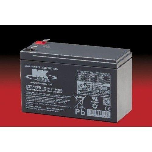 Batería MK ES7-12FR T2 7.2Ah 12V Agm MK - 1