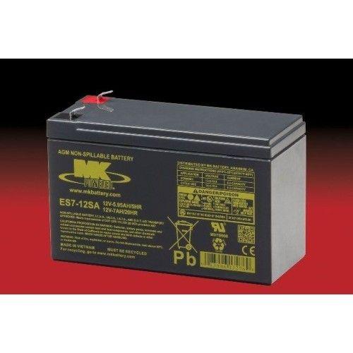 Batería MK ES7-12SA 7Ah 12V Agm MK - 1