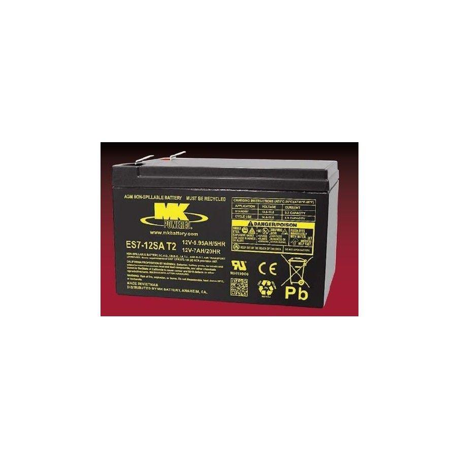 Batería MK ES7-12SA T2 7Ah 12V Agm MK - 1