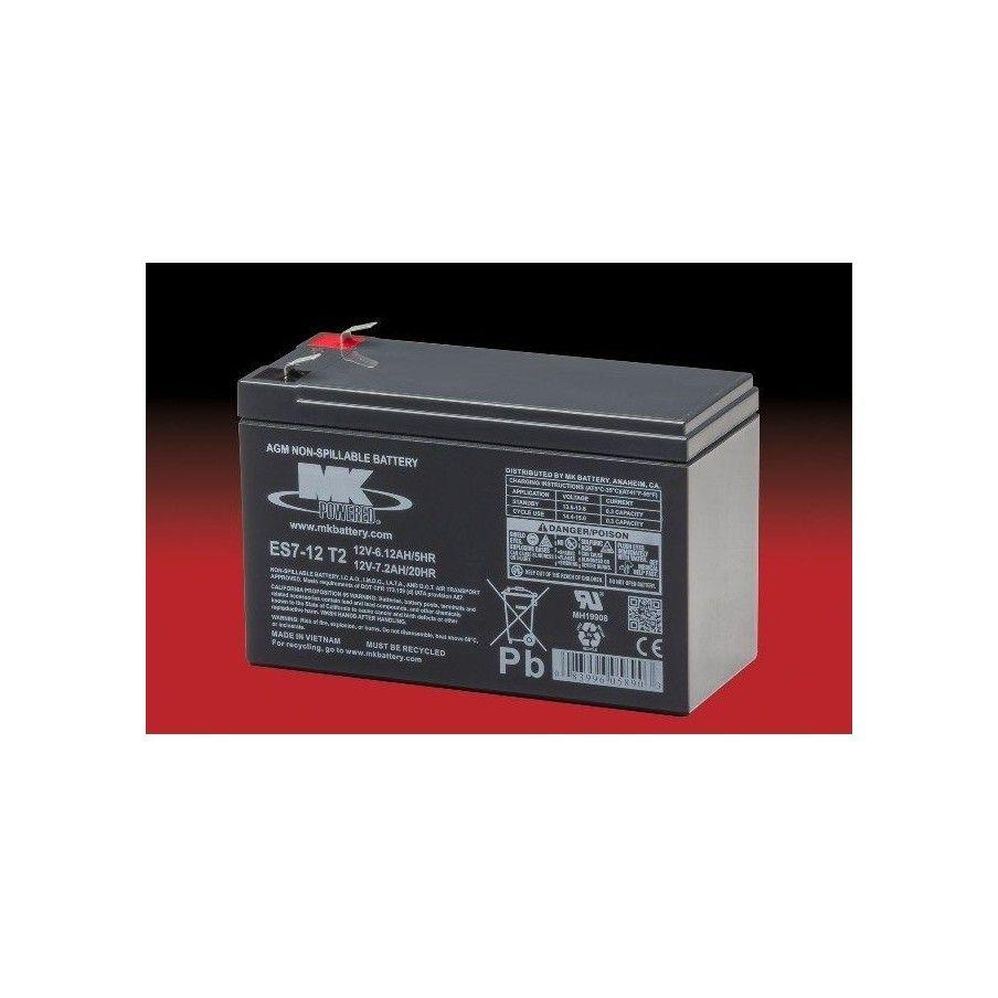 Batería MK ES7-12T2 7.2Ah 12V Agm MK - 1