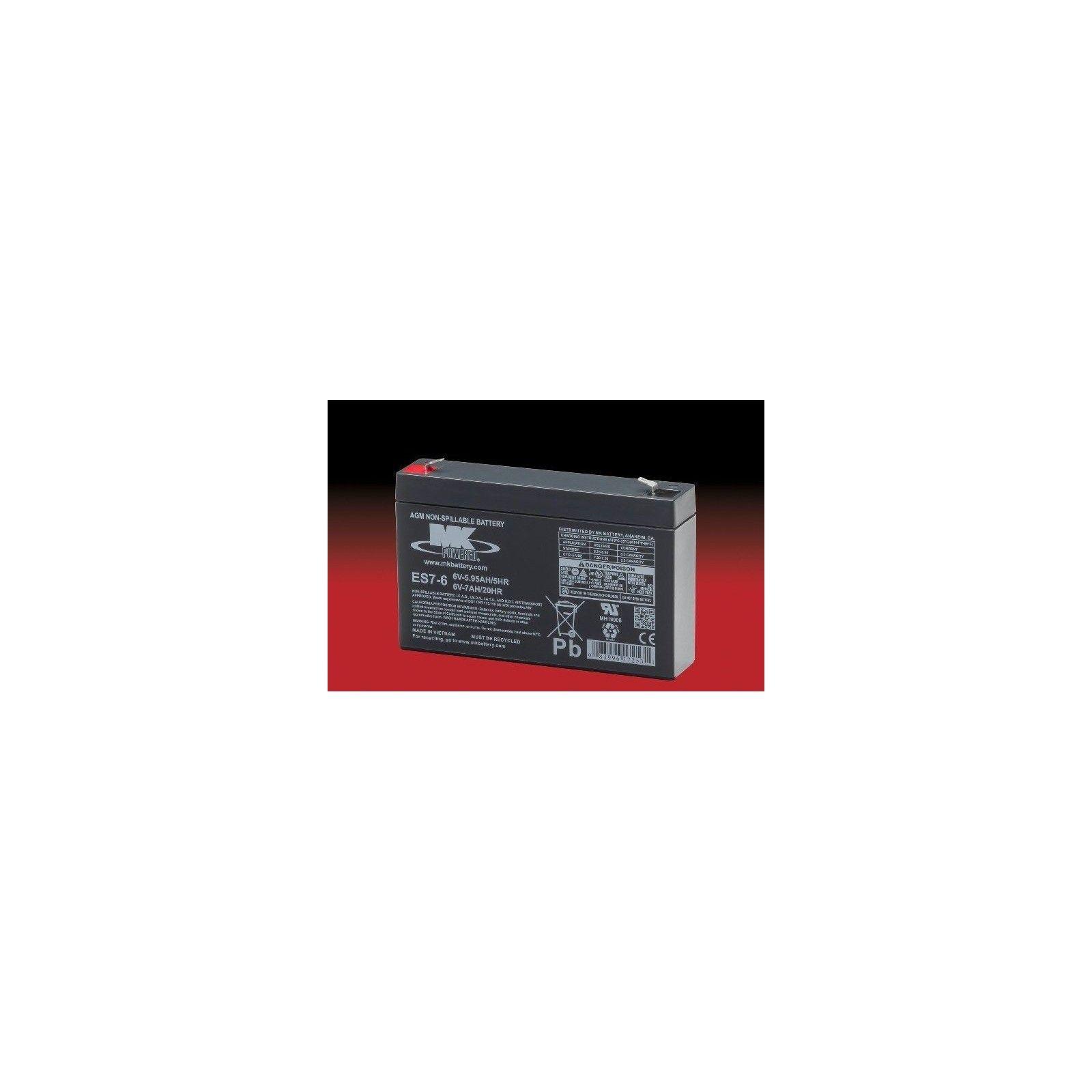 Batería MK ES7-6 7Ah 6V Agm MK - 1