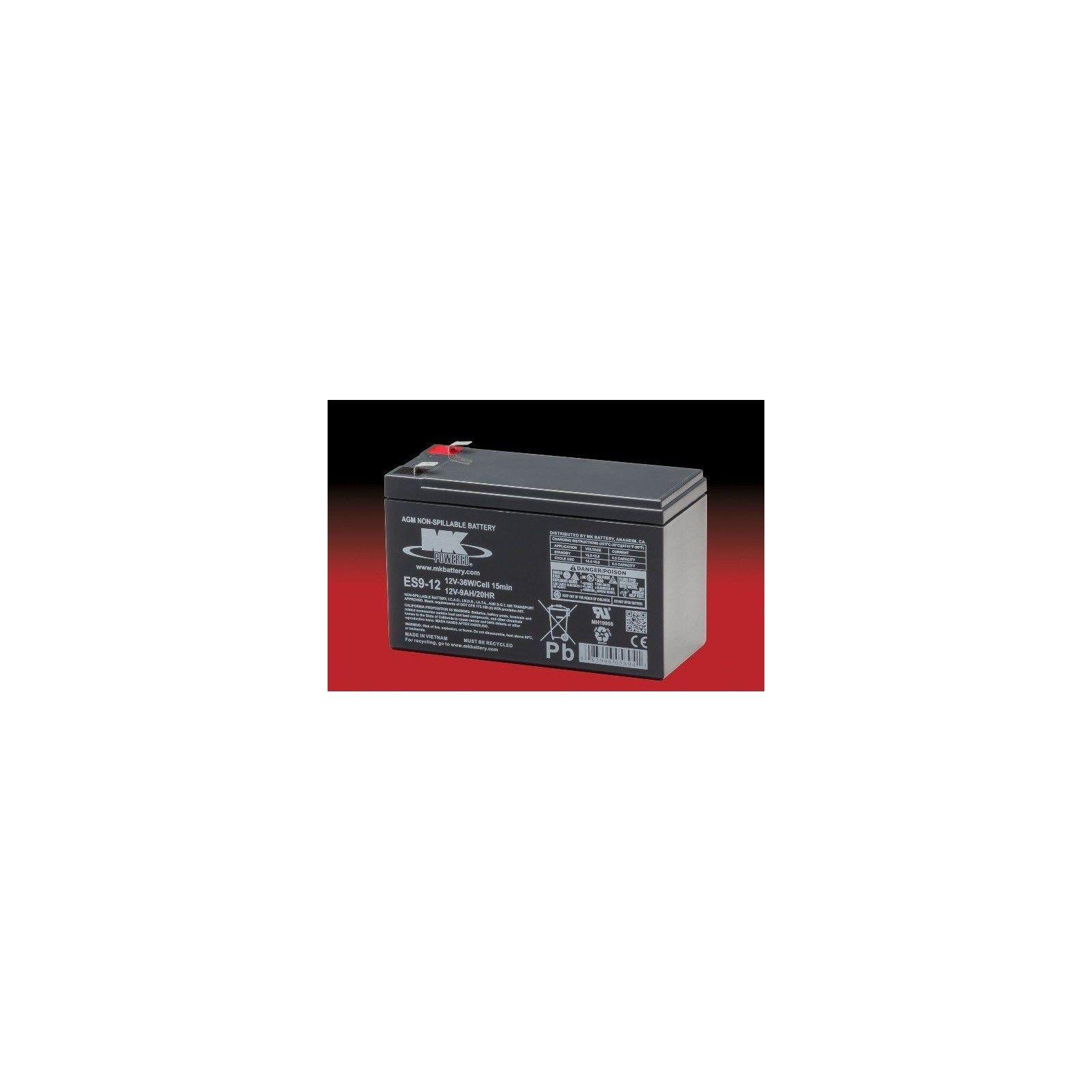 Batería MK ES9-12 9Ah 12V Agm MK - 1