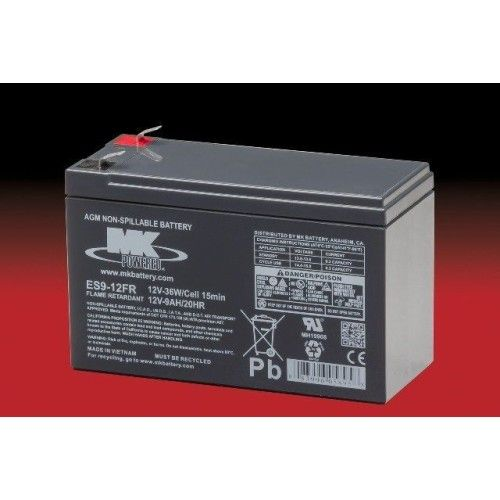Batería MK ES9-12FR 9Ah 12V Agm MK - 1