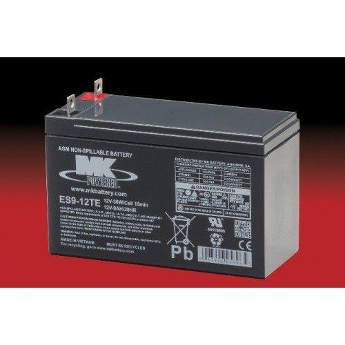 Batería MK ES9-12TE 9Ah 12V Agm MK - 1