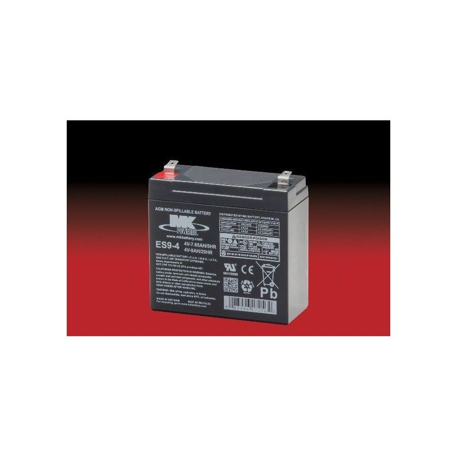 Batería MK ES9-4 9Ah 4V Agm MK - 1