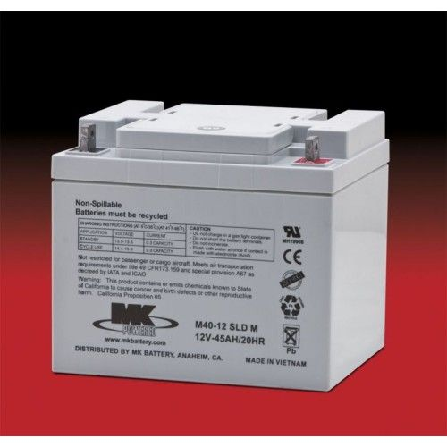 Battery MK M40-12 SLD M 45Ah 12V Agm MK - 1