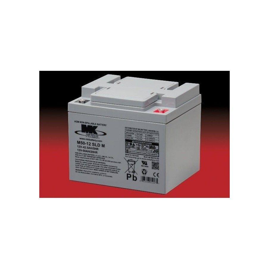 Batería MK M50-12 SLD M 50Ah 12V Agm MK - 1