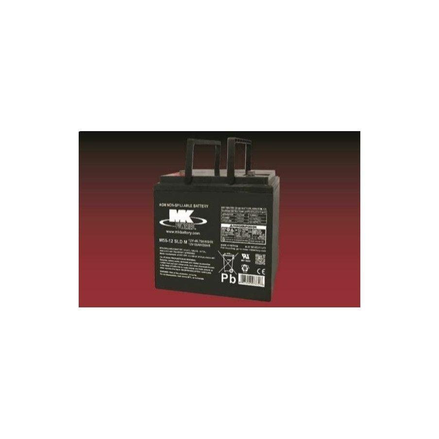 Batería MK M55-12 SLD M 55Ah 12V Agm MK - 1