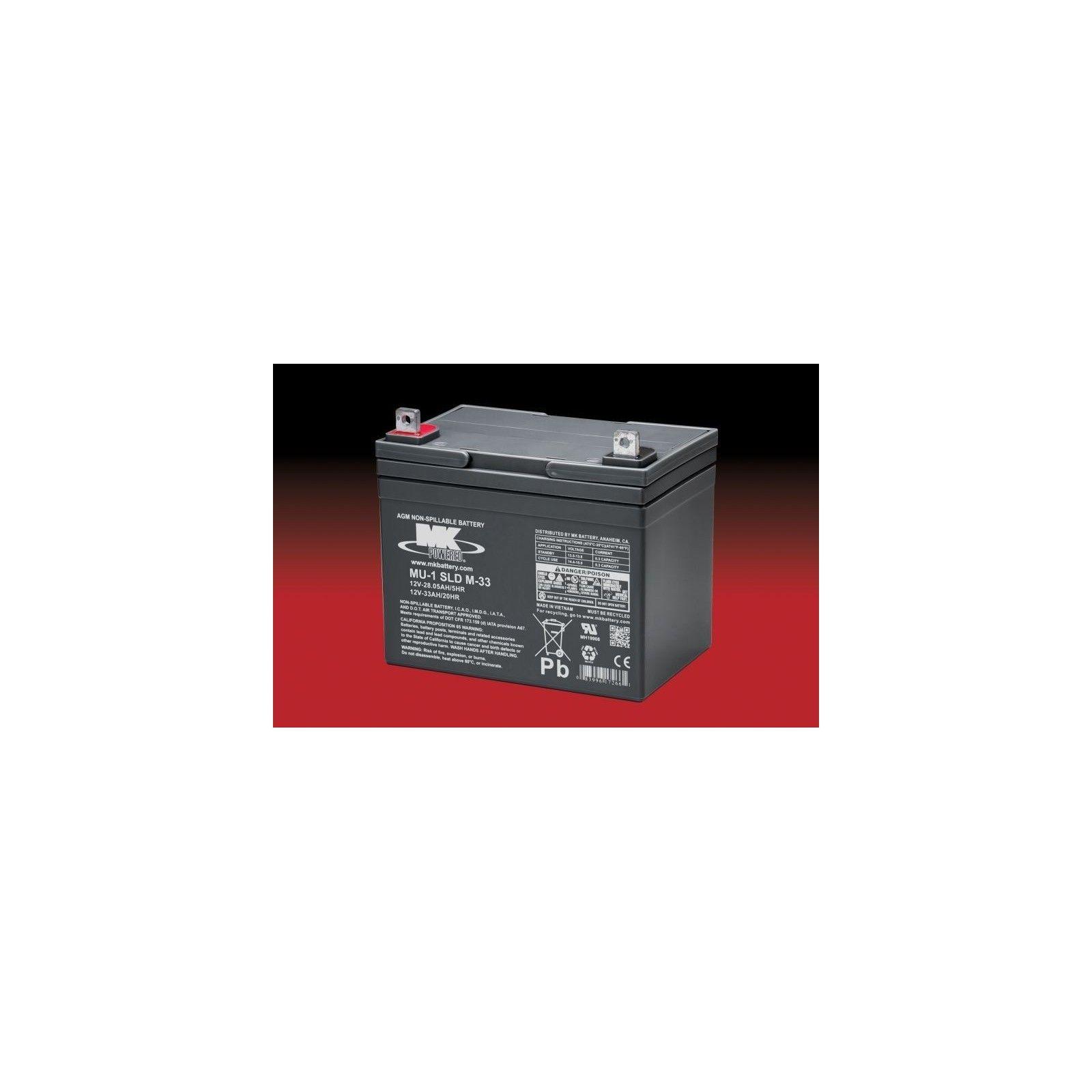 Batería MK MU-1 SLD M-33 33Ah 12V Agm MK - 1