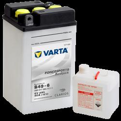 Batería Varta B49-6 (B49-6) 008011004 8Ah 40A 6V Powersports Freshpack VARTA - 1