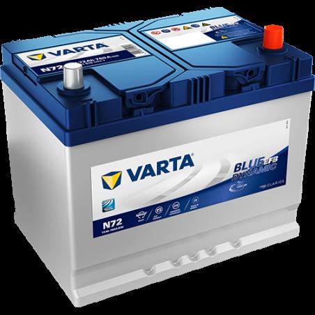 Batería Varta N72 72Ah 760A 12V Blue Dynamic Efb VARTA - 1