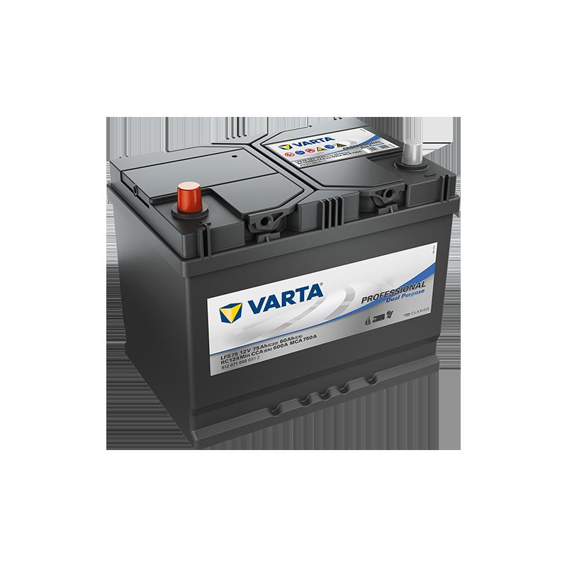 Batería Varta LFS75 75Ah 600A 12V Professional Dual Purpose VARTA - 1