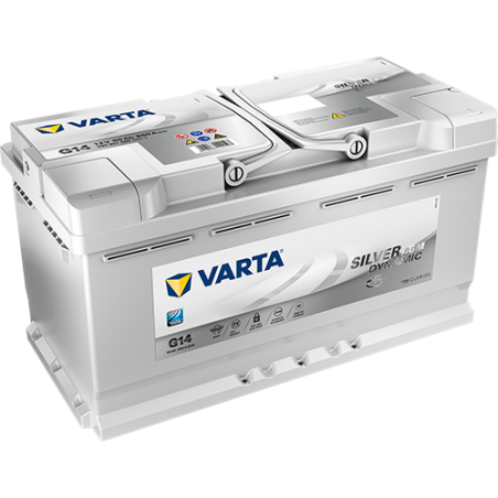 Batería Varta G14 95Ah 850A 12V Silver Dynamic Agm VARTA - 1