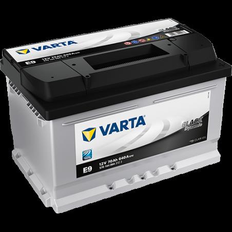 Batería Varta E9 70Ah 640A 12V Black Dynamic VARTA - 1