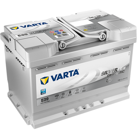 BATERIA Varta VARTA E39 70Ah 760A 12V VARTA - 1