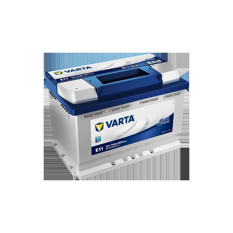 Batería Varta E11 74Ah 680A 12V Blue Dynamic VARTA - 1