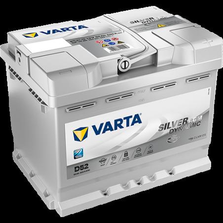 Batería Varta D52 60Ah 680A 12V Silver Dynamic Agm VARTA - 1