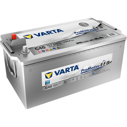 BATTERY VARTA I18 12V 110AH 680A  - 1