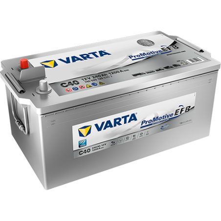 BATERIA Varta VARTA C40 240Ah 1200A 12V VARTA - 1