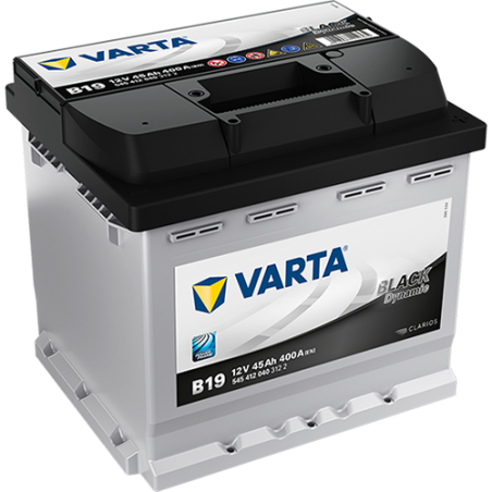 Batería Varta B19 45Ah 400A 12V Black Dynamic VARTA - 1