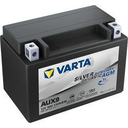 Batería Varta AUX9 9Ah 130A 12V Silver Dynamic Aux VARTA - 1