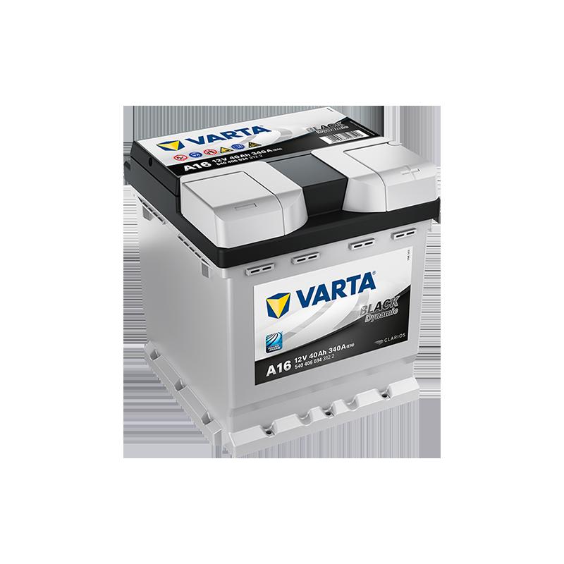 Batería Varta A16 40Ah 340A 12V Black Dynamic VARTA - 1