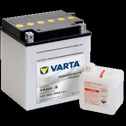 Batería Varta YB30L-B 530400030 30Ah 300A 12V Powersports Freshpack VARTA - 1
