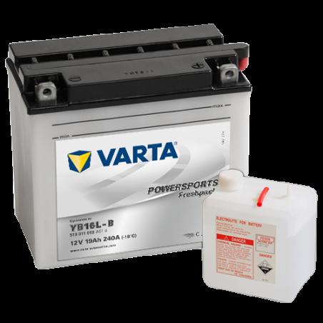Batería Varta YB16L-B 519011019 19Ah 240A 12V Powersports Freshpack VARTA - 1