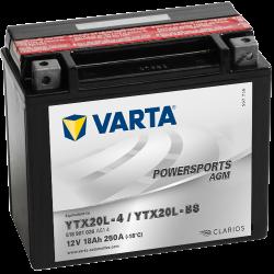 Batería Varta 518901026 18Ah 250A 12V Powersports Agm VARTA - 1