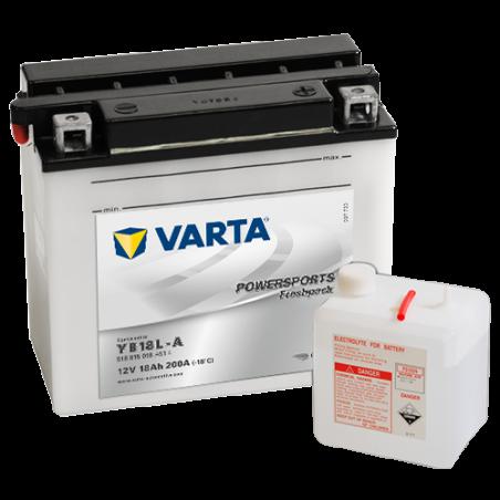 Batería Varta YB18L-A 518015018 18Ah 200A 12V Powersports Freshpack VARTA - 1