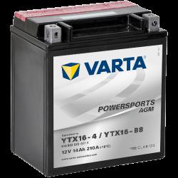 Batería Varta 514902022 14Ah 210A 12V Powersports Agm VARTA - 1