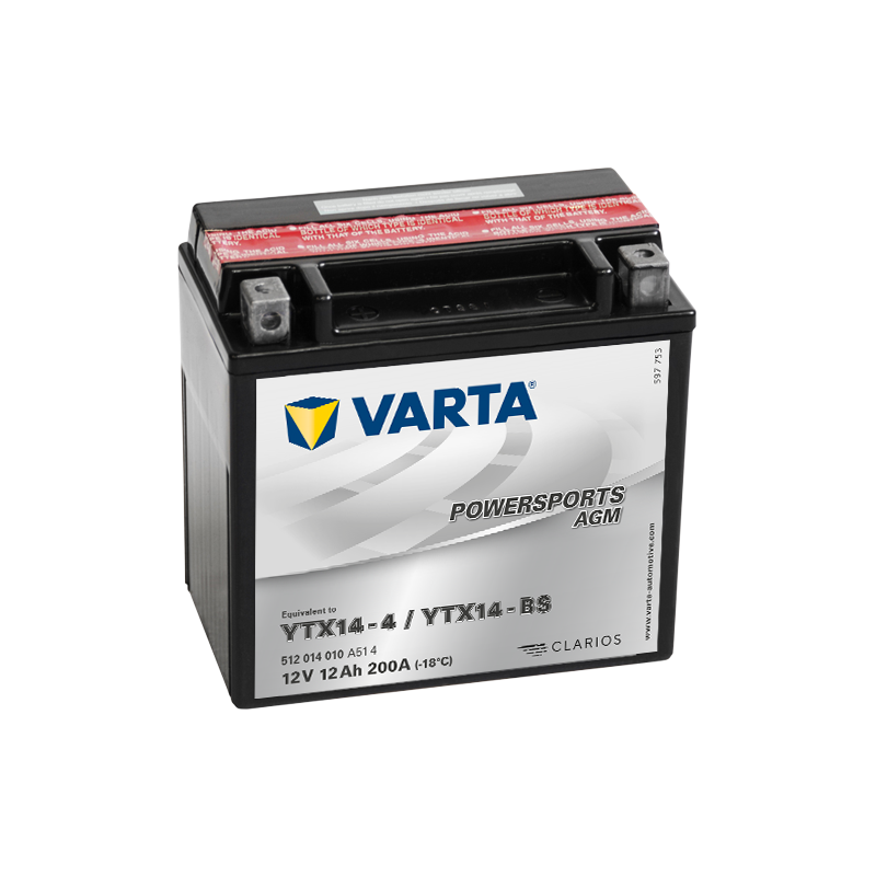 BATERIA VARTA N2 12V 200AH 1050A  - 1