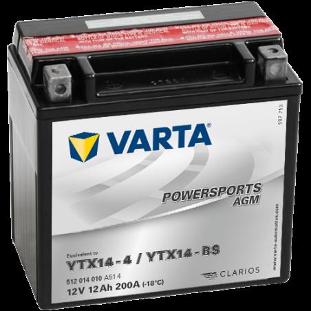 Batería Varta 512014010 12Ah 200A 12V Powersports Agm VARTA - 1