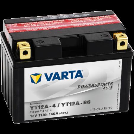 Batería Varta 511901014 11Ah 160A 12V Powersports Agm VARTA - 1
