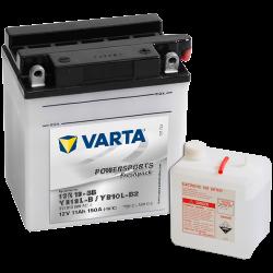 BATERIA Varta 12N10-3B,YB10L-B,YB10L-B2 VARTA 511013009 11Ah 150A 12V VARTA - 1