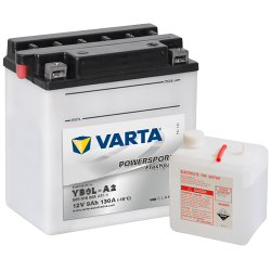 BATTERY VARTA POWERSPORTS 6N6-3B-1 6V 6AH 30A  - 1